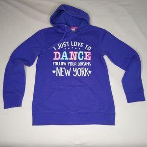 Love to Dance Follow Your Dreams Purple Hoodie